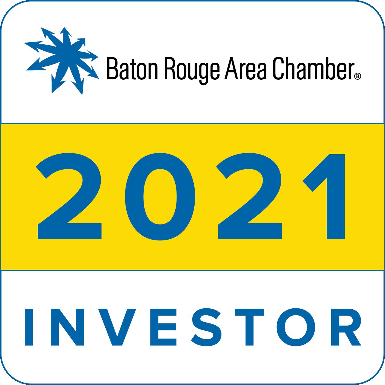 2021 Baton Rouge Area Chamber Investor
