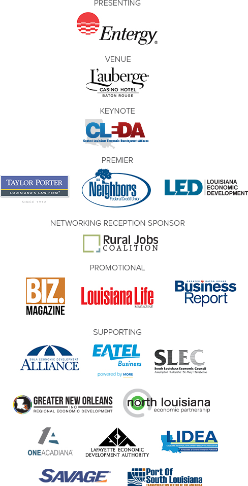 Statewide Economic Development Summit presented by Entergy